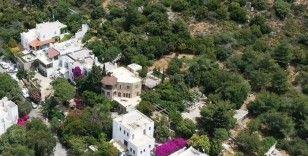 Can Dündar'ın işgal ettiği arazi havadan görüntülendi