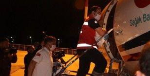 Ambulans Uçak Kübra bebek için Ağrı'dan Ankara'ya havalandı