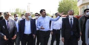 Çevre ve Şehircilik Bakanı Murat Kurum Çerkeş'te incelemelerde bulundu