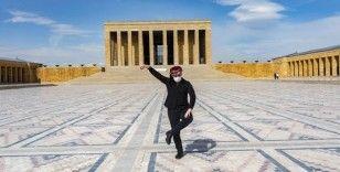 Ankaralı dansçılar Atatürk için dans etti
