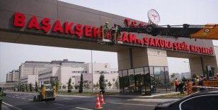 Başakşehir Çam ve Sakura Şehir Hastanesi yarın açılıyor