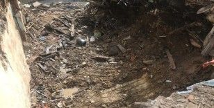 İstanbul'da yanmış kafatasının bulunduğu enkazdan insan kemikleri çıktı