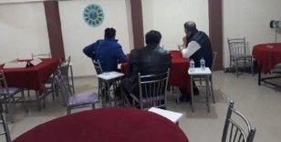 Kahvehanede yakalanan 13 kişiye işlem yapıldı