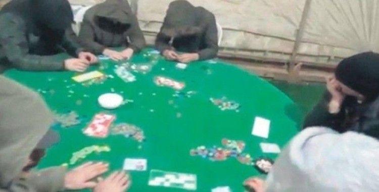 Vezirköprü'de kumarhane evine baskın: 9 gözaltı