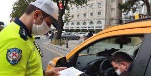 İstanbul'da toplu taşıma araçları ve ticari taksilere koronavirüs denetimi