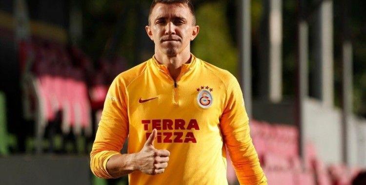 Galatasaray günü çift idmanla tamamladı