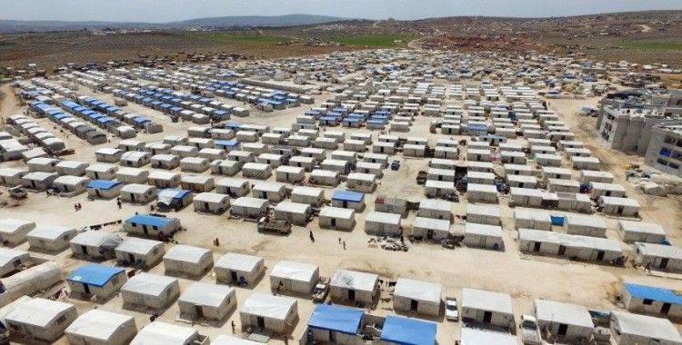 İHH, İdlib kırsalında 4 bin 500 adet briket evin inşasını tamamladı