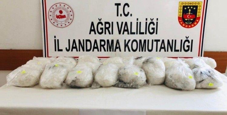 Doğubayazıt'ta 30 kilogram metamfetamin maddesi ele geçirildi