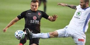 Çekya'da lider Slavia Prag hata yapmadı