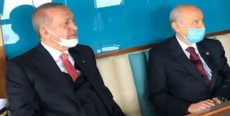 Erdoğan ile Bahçeli Demokrasi ve Özgürlükler Adası'nda