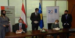 Avusturya'dan Kosova'ya 250 bin Euro yardım