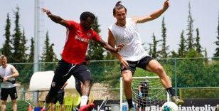 Gaziantep FK çalışmalarını sürdürüyor