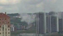 Fabrikanın kazan dairesinde patlama