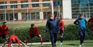 Kayserispor, Fenerbahçe maçı hazırlıklarını sürdürüyor