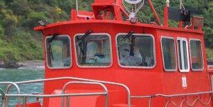 Kılavuz kaptanların korona virüs önlemleri böyle görüntülendi
