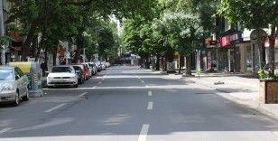 Ankara sokakları yine boş kaldı