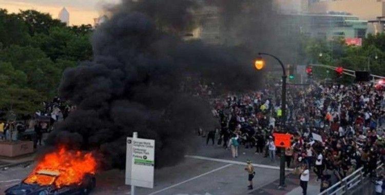 Detroit'te protestoculara ateş açıldı: Bir ölü