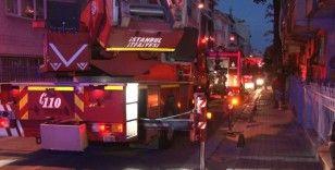 Sokağa çıkma kısıtlamasında mangal keyfi yangına neden oldu