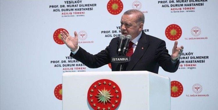 Erdoğan, 'Türkiye'nin ihtiyacı kavga değil eser siyasetidir