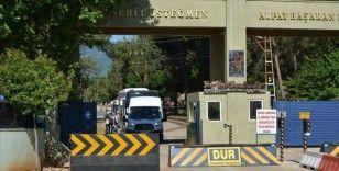Gaziantep'te Kovid-19 nedeniyle terhisleri ertelenen 120 asker ailelerine kavuştu