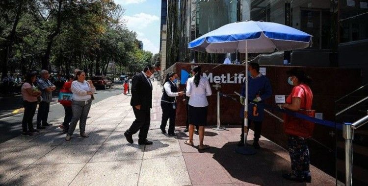 Meksika'da Kovid-19'dan son 24 saatte 151 kişi hayatını kaybetti