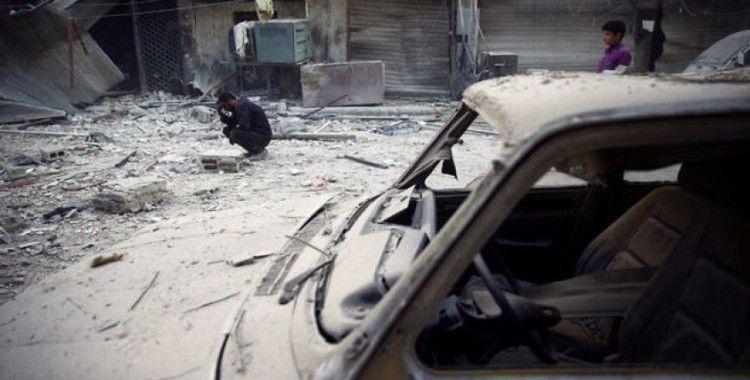 Esad rejimi Halep'te tarım aracını vurdu