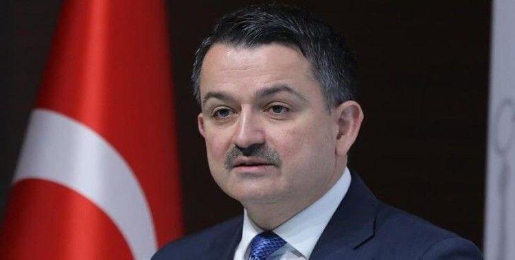 Bakan Pakdemirli: 'Mehmet Emin amcamıza 20 koyun hediye ettik'