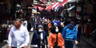 İstanbul'un çarşılarında normalleşme yoğunluğu