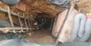 Define avcıları yerin 35 metre altına indi