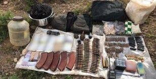 Bingöl'de terör örgütüne ait mühimmat ele geçirildi