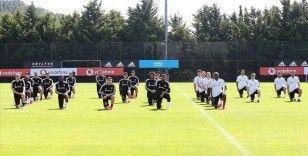 Beşiktaşlı futbolcular George Floyd'u andı