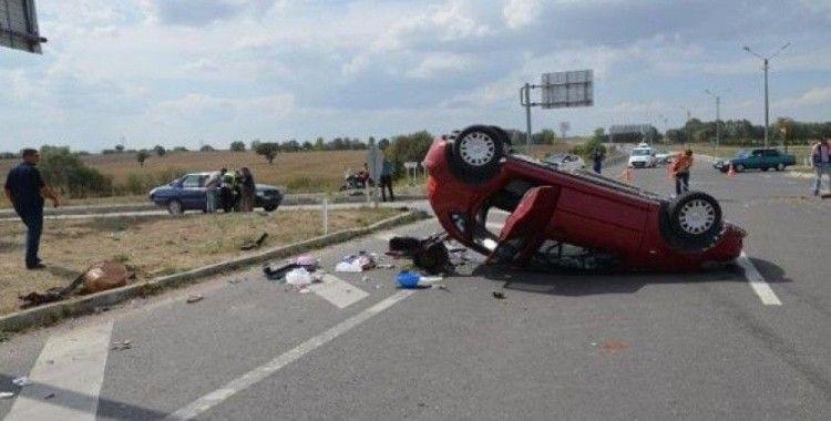 Kütahya'da bin 345 ölümlü ve yaralanmalı trafik kazası meydana geldi
