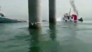 İran'a ait yük gemisi Irak karasularında battı