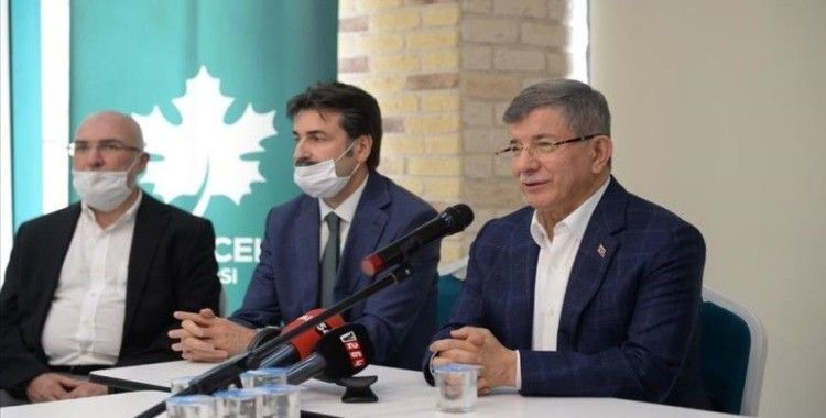 Gelecek Partisi Genel Başkanı Davutoğlu: Hiçbir siyasi partiye ön yargılı yaklaşmayız