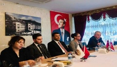 DEVA Partisi Kurucular Kurulu Üyeleri Kastamonu basını ile buluştu
