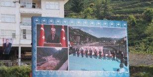 Cumhurbaşkanı Erdoğan video konferans ile Rize'de açılışa katıldı
