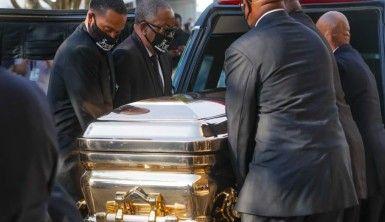 Floyd için son yolculuğuna uğurlanacağı Houstan'da cenaze töreni