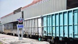 Bakü-Tiflis-Kars Demir Yolu Hattı 'Kovid-19 süreci'nde Türkiye'nin dışa açılan ticaret yolu oldu