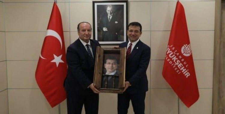 Cevdet Akay'dan İBB Başkanı İmamoğlu'na ziyaret