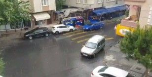 İstanbul'da yağış