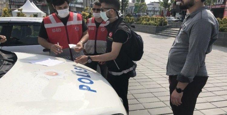 Maske takma zorunluluğuna uymayanlara ilk cezalar yazıldı