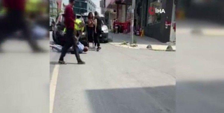 Arnavutköy'de 'dur' ihtarına uymayan şahıs kıskıvrak yakalandı