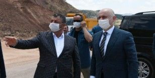 Bakan Karaismailoğlu Siirt'te incelemelerde bulundu