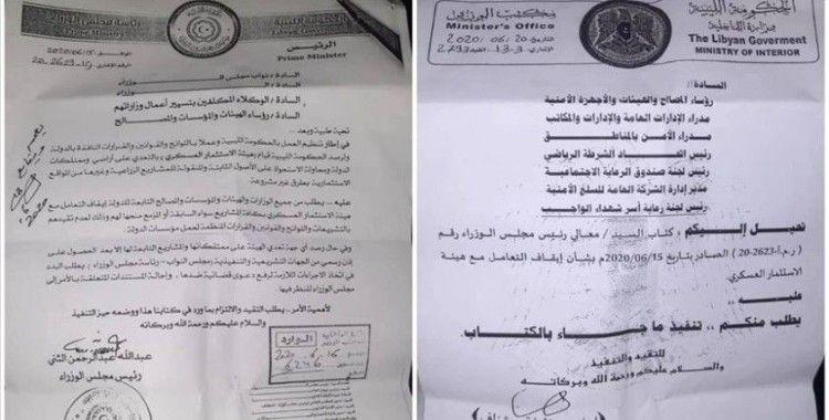 Libya hükümeti Hafter'in mali yolsuzluğunu kanıtlayan iki belge yayımladı