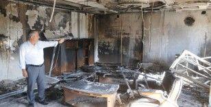 Cizre OSB'de fabrika yangını