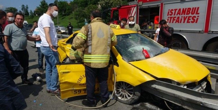 Kağıthane'de zincirleme kaza