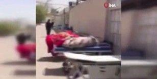 Irak'ta Covid-19'dan ölenlerin cesetleri morglara sığmadı