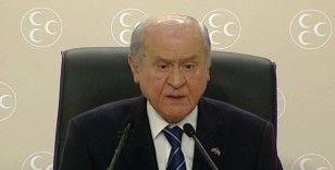 MHP Genel Başkanı Bahçeli'den sert açıklamalar