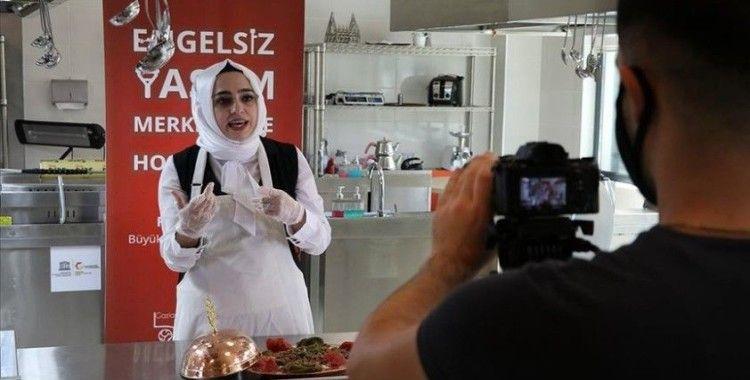 Gaziantep'in lezzetleri işaret diliyle anlatılıyor