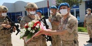 Barış Pınarı Harekatı bölgesinde görev yapan 'Boralar' yurda döndü